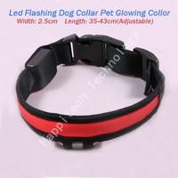 Free Shipping Led Flashing Dog Collar, Multi-colors Pet Flashing Collar, For Cats/Dogs.