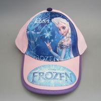 NEW Baby Cartoon Frozen Baseball Cap Summer Beret hat Children's hat Gifts 20pcs/Lot Wholesale