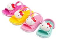 [E-Best] Retail ! New 2014 summer Children's sandal Hello kitty shoes Casual shoes Non-slip shoes Fashion shoes 4 colors  S025