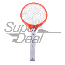 1pcs Rechargeable  Electronic Mosquito Insect Bug Fly Zapper Swatter Net Racket(China (Mainland))