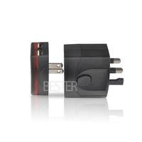 110V 220V Universal World Wide All In One Travel Power socket Adapter Adaptor 2 USB Port World Travel Adaptor(BS185 4pcs/lot)