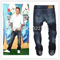 W29-W40#825,New 2014 True Jeans Men,Italian Famous Brand Men's Jeans,Large Size Perfume Men Fashion Designer Skinny Denim Jeans