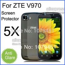 5pcs Free Shipping ZTE V970 Screen Protective film,Matte Anti-glare Mobile Phone ZTE V970 Screen Protector.LCD Film