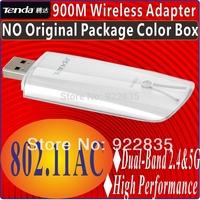 TENDA W900U 900M 900Mbps 2.4GHz+5GHz Performance Dual Band AC Wireless N WIFI USB Adapter 802.11acbgn adaptor Gigabit WiFi Speed