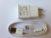 DHL Free Shipping USA Plug 2A Wall Charger+Micro USB Data Sync Cable For Samsung Galaxy S4 i9500 s3 Note 2