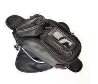 Black Motorcycle Tank knapsack Bag Magnetism draw TANK