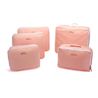5Pcs clothing Luggage storage organizer set Traveling Bag in Bag Fashion Nylon Clothes Underwear Storage Bag
