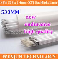 50PCS High Quality FreeShipping 23.6 inch  wide screen LCD CCFL lamp 533mm x 2.4mm  ccfl backlight 533mm ccfl backlight tube