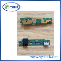 100% Original NEW For LENOVO A2107 A2207 USB PORT Charger Board A2-USBPCB-H301 AC DC JACK BOARD