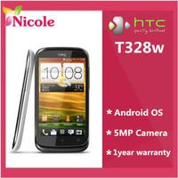 "Original HTC Desire V T328w Cell phone Dual SIM 4.0""TouchScreen GPS Wi-Fi 5.0MP Refurbished Free Shipping"