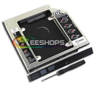 for HP Probook 4530s 4540s 4520s 4430s Laptop Internal 2nd HDD SSD Caddy Second Hard Drive Disk DVD Optical Bay Replacement