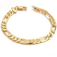 Romantic  18K yellow Gold plated  Women charming Bracelet hollow Strap best gift, n157