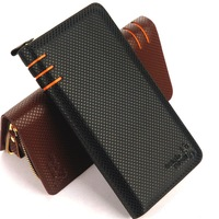 Multi-purpose men's day clutch wallet mobile phone bag wallet male long design bags multi card holder clutch bag  free shipping