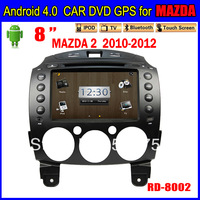 free shipping navigation 7inch Andriod Car dvd gps for MAZDA 2 Car Radio TOUCH SCREEN 3G Wifi Bluetooth TV IPOD