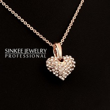 wholesale heart gold jewelry