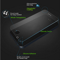 0.3mm Explosion Proof LCD Clear Front Premium Tempered Glass Screen Protector Protective Film Guard For Apple iPhone 5 5S 5C