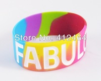 Wholesale and retail silicone wristbands (SW-01)