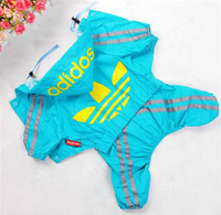 Free shipping !pet products,dog clothes,Raincoat, pet raincoat,Windbreaker, waterproof fabric, fashion style