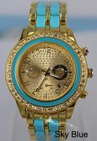 Luxury Brand New Wristwatch Free Shipping High Quality Women's Watch With Date Men Ladies Jewelry Diamond Bracelets Watch
