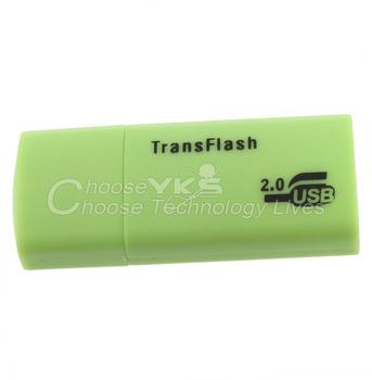 1 pcs Digital Memory TF Card Micro SD Card Reader USB 2.0 Adapter Transflash YKS