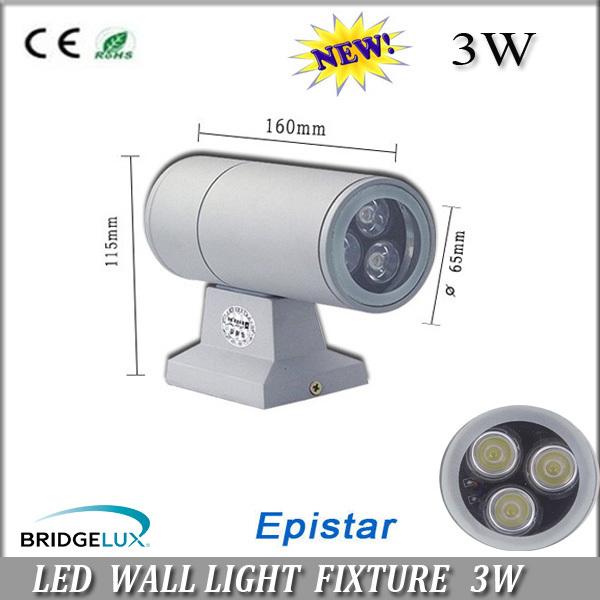 Livraison gratuite led haute puissance 3w/6w/12w one way/bi lumière d'inondation lampe d'éclairage lampe de mur extérieur projet lumière lumières extérieures