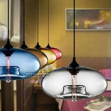 Wholesale - - Free shipping Italy design modern glass pendant lamp fashion pendant light art bar lamps and retail(China (Mainland))