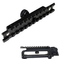 "7/8"" Picatinny Rail Optics Scope Mount  W/ 10 Slots Fits Airsoft AR-15 M4 Carry Handle"