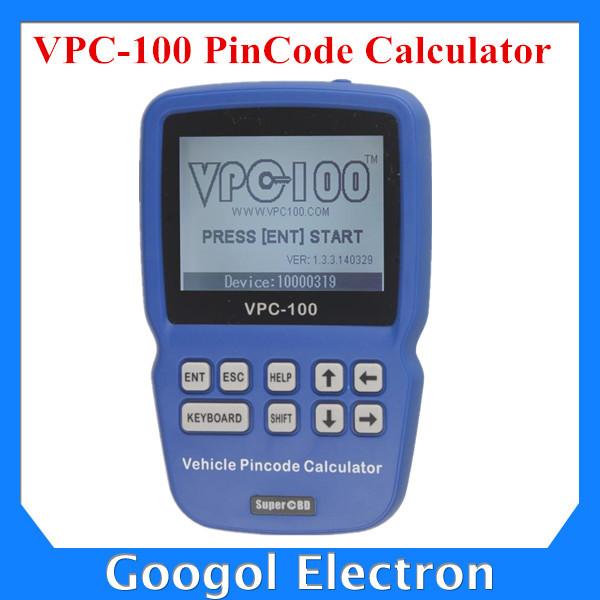 VPC-100 Hand-Held Vehicle PinCode Calculator with 300+200 Tokens VPC100 Pin Code Calculator/Reader VPC 100 Auto Key Programmer(Hong Kong)