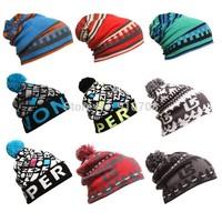 2014 New winter cap  burton snowboard Winter Ski skating lot caps & hats skullies and beanies for men& women