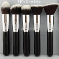 High quality! 5PCs/Set New 2014 Pro Make Up Brush Set Cosmetic Eye shadow Foundation wooden blusher Tools SV000967 b004