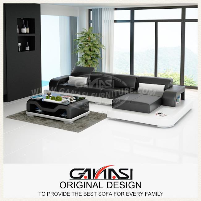 GANASI home furniture living room,corner living room,leather sofa set(China (Mainland))