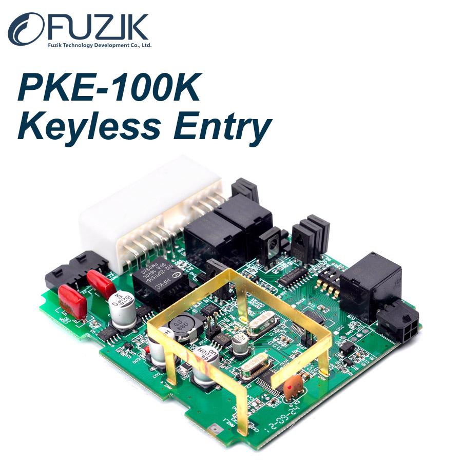 PKE-100K+ST Classic Keyless Entry Keyless Go Smart Key Push Button Remote Start Car Alarm System(China (Mainland))