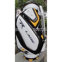 TM | Drop Shipping | 2014 Fantastic Staff Golf Caddie Bag in Beige white well worth