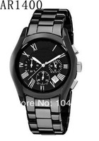 AR1400 AR1410 Mens Watches Brands Gents Wristwatch Ceramic Sports Chronograph Men's Watch+- Box