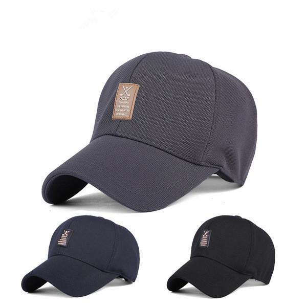 New 2014 men golf cap 100% cotton fashion baseball caps(China (Mainland))