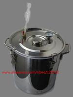 30 L stainless steel bucket fermentation tank for vodka moonshine whisky wine beer  bucket