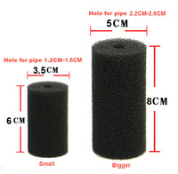 Aquarium Tank  Sponge Filter Guard for Shrimp & fish small baby hole for pipe 2.2CM -2.6CM (bigger)