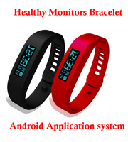 New Smart Healthy Silicone Wristband/Bracelet Pedometer Calories Monitoring Sleep Tracking Health Fitness Bluetooth OLED display