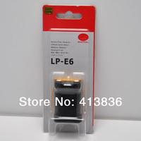 Original 1:1 LP-E6 LPE6 digital camera batteries for canon 5D  60D  7D free shipping 5pcs/lot