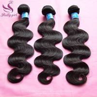 "Unprocessed 6A Peruvian virgin hair body wave Natural Black extensions 3pcs lot 8-30"" human hair weave wavy Landot hair products"