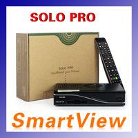1pc VU+ Solo Pro HD DVB-S2 Satellite Receiver with DM panel Enigma2 Mini VU+ Solo support wifi Youtube IPTV  free shipping post