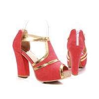 FREE SHIPPING new 2014 summer women high heel sandals pumps fashion women's shoes platform ladies big size 34-43 L2096