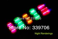 3pcs/set Feeder Fishing Float Bobber Night Vision Electric Float Light Battery Fishing Tackle Luminous electronic float(G)