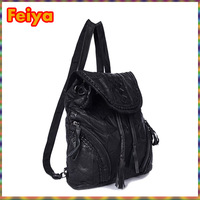 New&Hot 2015 Fashion Women Genuine Leather Backpack/Women Travel Bags Tassel Sweet Beautiful Gril'S School Backpacks Bag