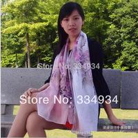 2014 Chiffon Fashion   Scarf, Stole, Shawl, wrap, Long size Cape for women / girl, Mini Order US$5,
