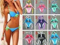 Sexy Fashion Women's bikini set Push-up Padded Bra Swimsuit Bathing Swimwear