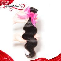 6A Unprocessed Peruvian Virgin Hair Body Wave Human Hair Weaves Xuchang Longqi Hair Products Wavy Virgin Hair, 4PCS Lot LQPBW006