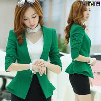 Blazer Feminino Sale Fasion Regular Solid Suits & Coats For Women Chaquetas Mujer Female Outerwear Blazers & Jacket Design Slim
