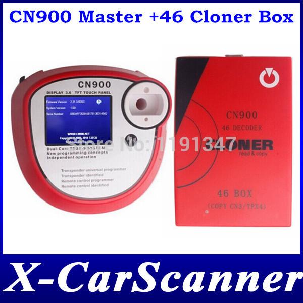 2014 New Original CN900 Auto key programmer CN900 Master + CN900 ID46 Decoder Box Update Online(China (Mainland))
