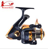 Promotion Fishing Reel 8BB YB2000 5.1:1 258g Spinning Fly Boat Fishing Reels ,Carp Reels fishing Rod Tackle Free Shipping